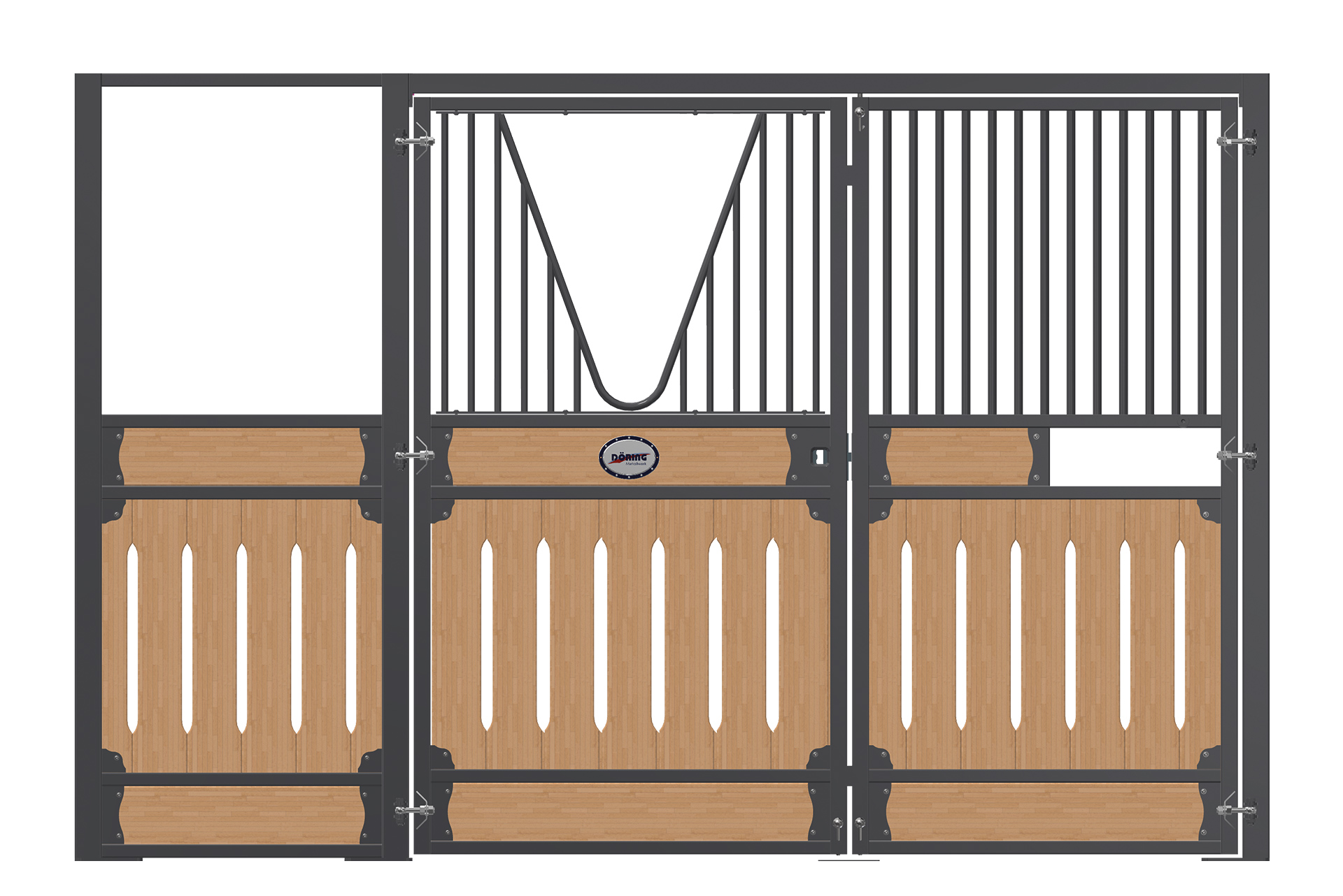Front-Exclusiv-doppel-Drehtür-2Qr-FL-WR-HR