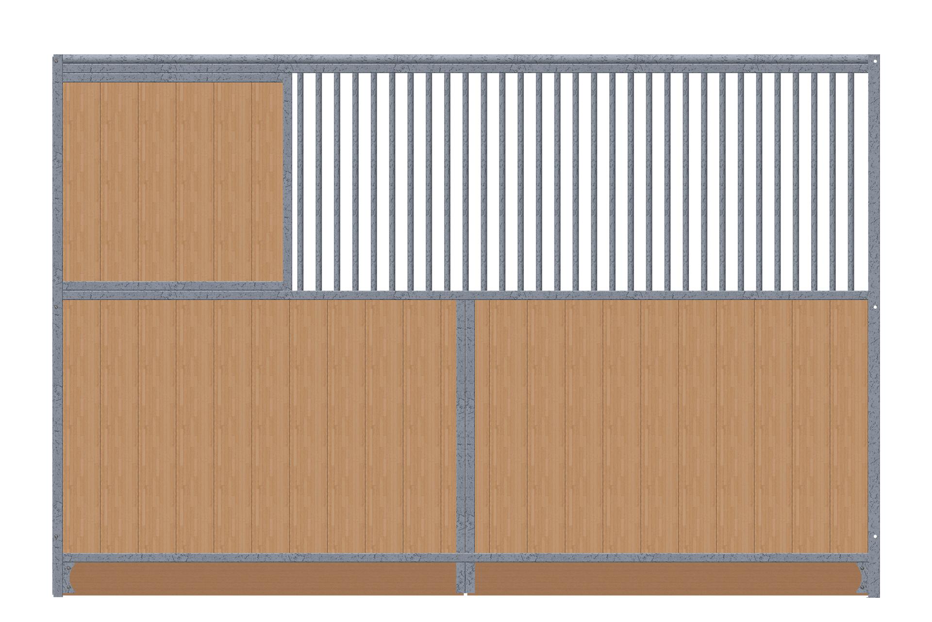 Trennwand-1x-Sichtschutz-grade-verzinkt