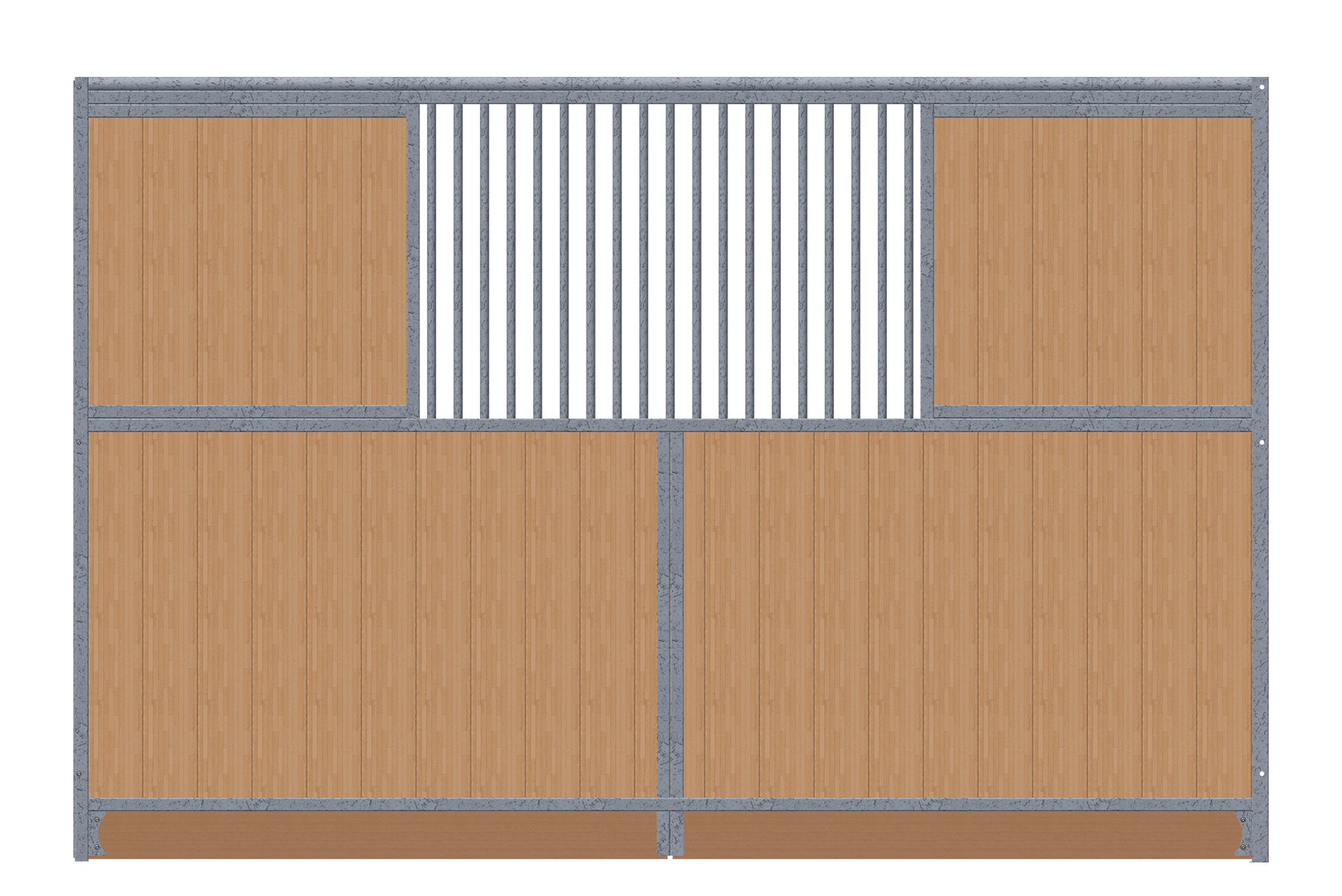 Trennwand-2x-Sichtschutz-grade-verzinkt
