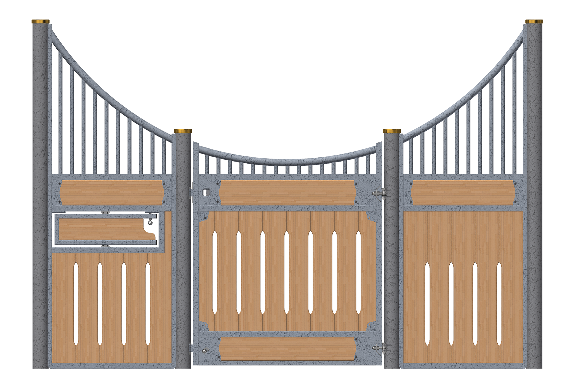 Frond-Cirkle-1QR-Drehtrog-verzinkt